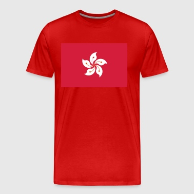 National Flag Of Hong Kong - Men's Premium T-Shirt