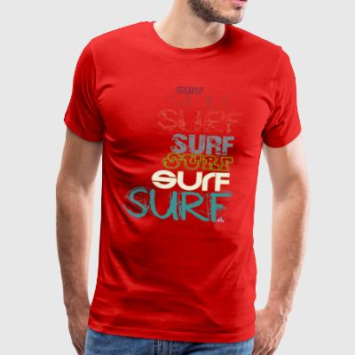 Surfing room, by kite-mallorca - Men's Premium T-Shirt