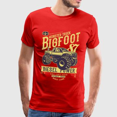 Big Foot - T-shirt Premium Homme