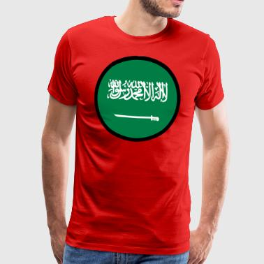 Under The Sign Of Saudi Arabia - Premium T-skjorte for menn