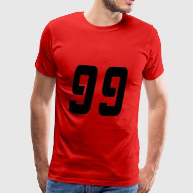 Ninety-nine - Men's Premium T-Shirt