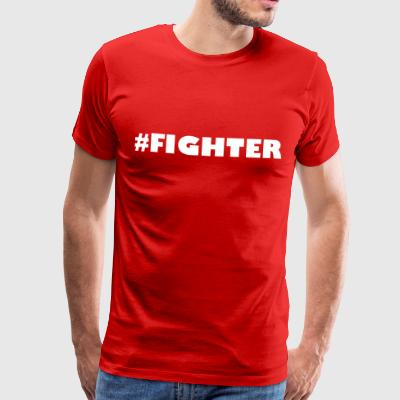 Fighter - Herre premium T-shirt