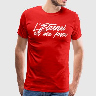The Lord is my strength Psalm 28: - Men's Premium T-Shirt