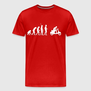 Evolution  Vespa - Men's Premium T-Shirt