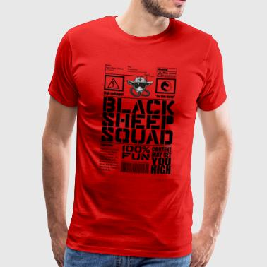 Squad Black Sheep Design 1 - T-shirt Premium Homme