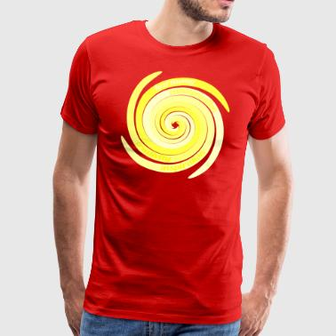 Spirals n.6 (air) - The Four Elements - Men's Premium T-Shirt
