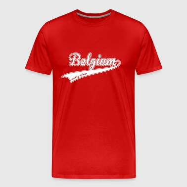 belgium country of beer - T-shirt Premium Homme