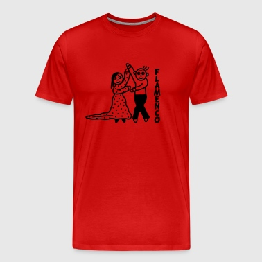 Flamenco dancer - Men's Premium T-Shirt