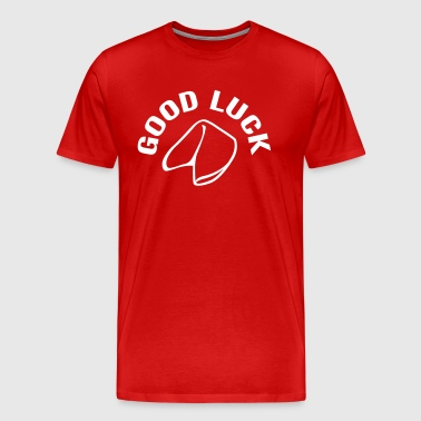 Good Luck Fortune Cookie - Premium-T-shirt herr