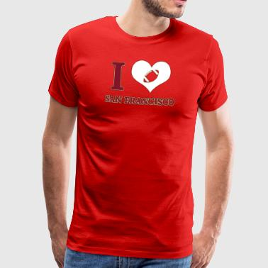 I love San Francisco - Männer Premium T-Shirt