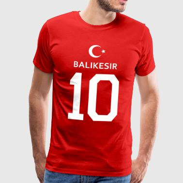 Turkey Balikesir 10 - Men's Premium T-Shirt