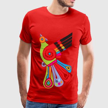 A bird of paradise - Men's Premium T-Shirt