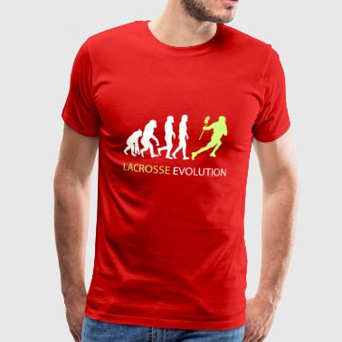 ++ Lacrosse Evolution ++ birthday present - Men's Premium T-Shirt