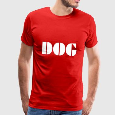 Dog - Premium-T-shirt herr