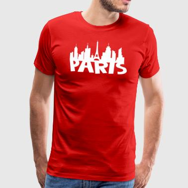 Paris Skyline - Männer Premium T-Shirt