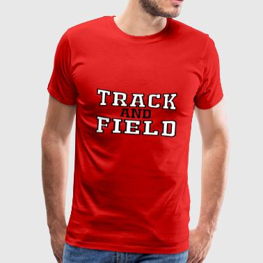 Track and Field - Männer Premium T-Shirt