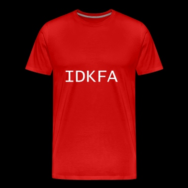 IDKFA - DOOM II Cheater - Men's Premium T-Shirt