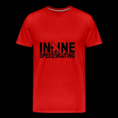 inline speedskating - Men's Premium T-Shirt