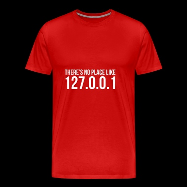127.0.0.1 Local Host - Men's Premium T-Shirt