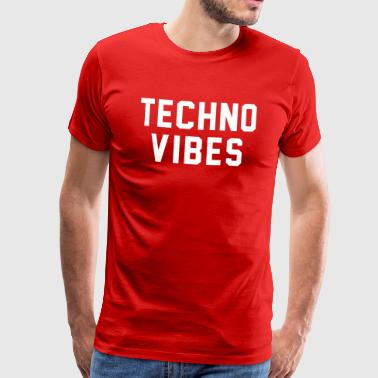 Techno vibes - Premium T-skjorte for menn