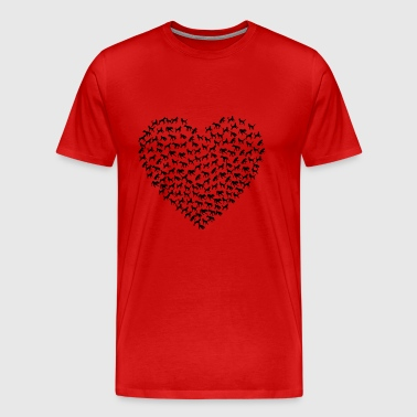 Dog Heart - Men's Premium T-Shirt