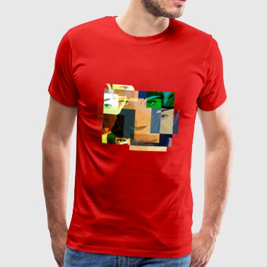 pop art - Premium T-skjorte for menn