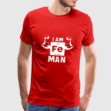 Ironman | Periodic table of elements - Men's Premium T-Shirt