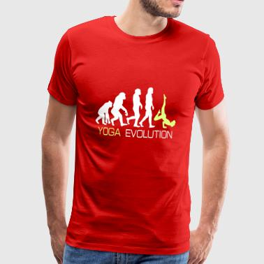 Evolution - Yoga T-shirt regalo - Maglietta Premium da uomo