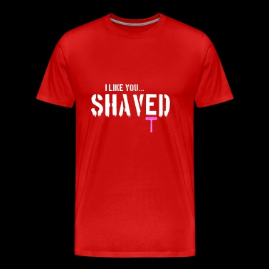 shaved - Men's Premium T-Shirt