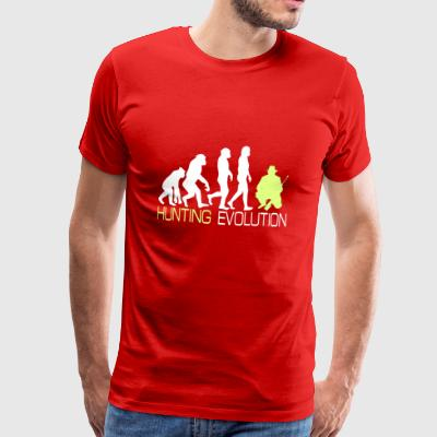 Evolution - Hunting T-Shirt for Hunter Gift - Men's Premium T-Shirt