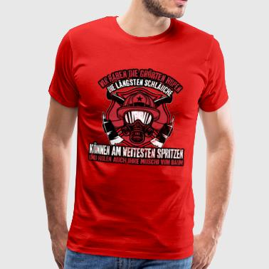 Fire department has the longest - Men's Premium T-Shirt