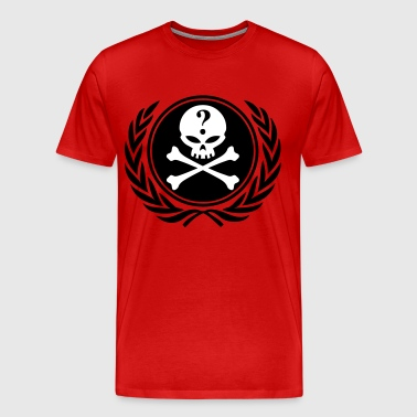 anonymous skull - Men's Premium T-Shirt