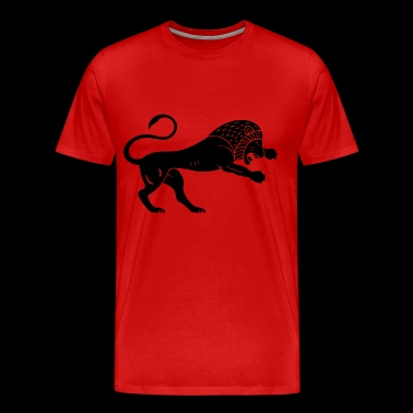 Ancient lion - Men's Premium T-Shirt