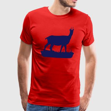 The Chamois (Vector) - Men's Premium T-Shirt