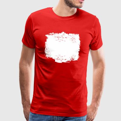 GRUNGE · BACKGROUND · HINTERGRUND - Männer Premium T-Shirt