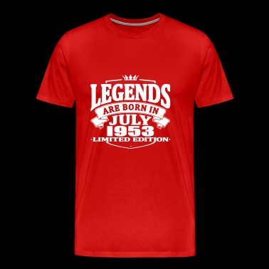 Legends are born in july 1953 - Men's Premium T-Shirt
