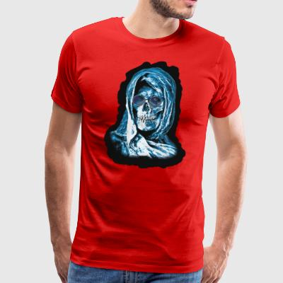 Grim Reaper Head - Premium T-skjorte for menn