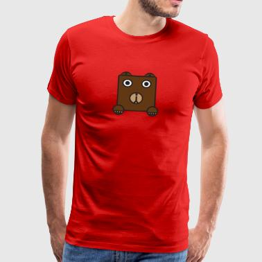 bearly - Herre premium T-shirt