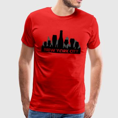 Brew York City - Men's Premium T-Shirt