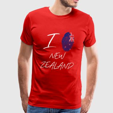 I love New Zealand - Männer Premium T-Shirt
