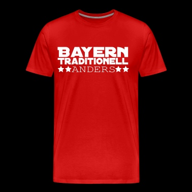 Bayern Traditionell Anders - Männer Premium T-Shirt