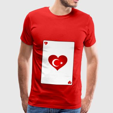 Turkey Heart Ass Heart - Men's Premium T-Shirt