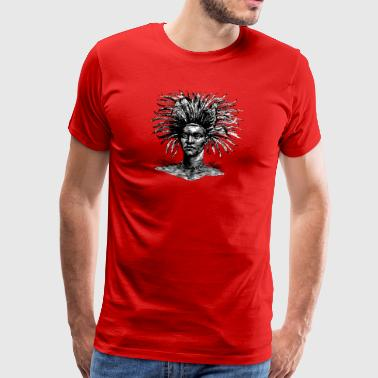 African Warrior - Men's Premium T-Shirt