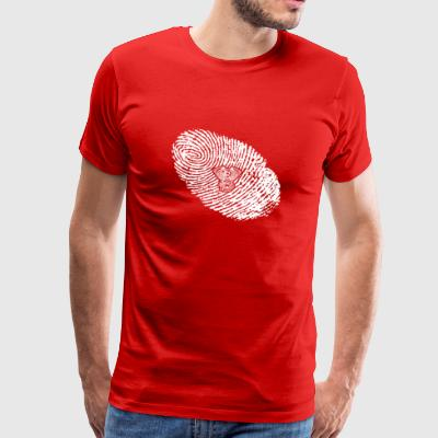 fingerprint dna dns gift engine 2 - Men's Premium T-Shirt