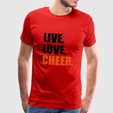 2541614 14523386 cheer - Men's Premium T-Shirt