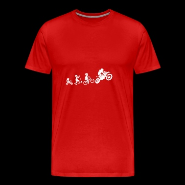 Motocross evolution gift motorcycle child - Men's Premium T-Shirt
