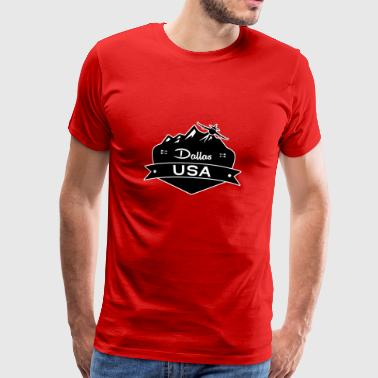 Dallas USA - Men's Premium T-Shirt