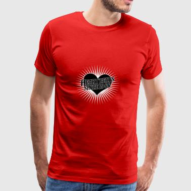 Heartbeats for the year 1966 - Men's Premium T-Shirt