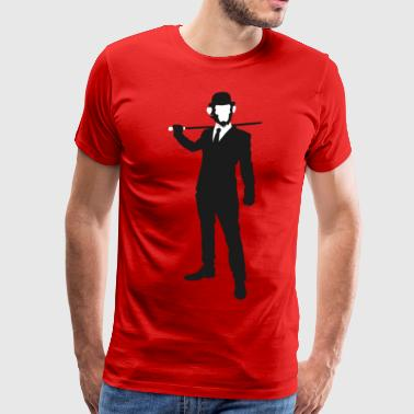 PREMIUM SO GEEEK HERO - MINIMALIST DESIGN - Men's Premium T-Shirt