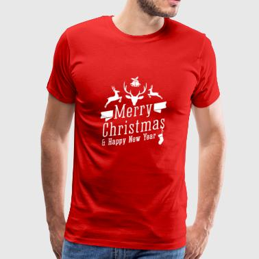 Merry Christmas and a Happy New Year - Men's Premium T-Shirt